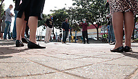 Campinas (SP), 15/04/2020 - Covid-19/Religião - Pastores e líderes evangélicos se reuniram nesta terça-feira (15), para pedirem as autoridades municipais a flexibilização dos cultos nos templos evangelicos, o ato foi realizado no Largo da Concórdia, na região do Campo Grande, na cidade de Campinas, interior de São Paulo.