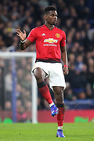 Paul Pogba of Manchester United during Chelsea vs Manchester United, Emirates FA Cup Football at Stamford Bridge on 18th February 2019