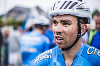 Sean De Bie (BEL/Veranda's Willems Crelan) after finishing 3th place. <br /> <br /> 71th Halle Ingooigem 2018 (1.1)<br /> 1 Day Race: Halle > Ingooigem (197.7km)