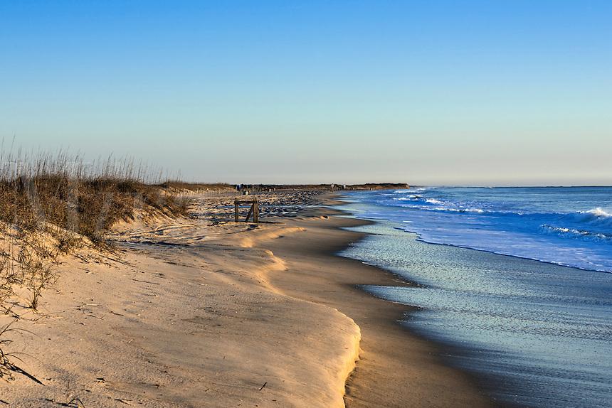 Sunrise at Carolina Beach, North Carolina, USA