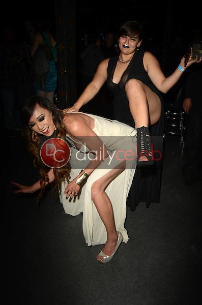 Venus Lux, Precious Ocho<br /> at the Syren 2016 XBIZ Awards Pre-Party hosted by Venus Lux, The Offbeat Bar, Los Angeles, CA 01-12-16<br /> David Edwards/DailyCeleb.Com 818-249-4998