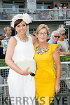 l-r  Shin Hayes, Listowel and Eilish Stack, Organiser of Ladies Day at Listowel Races