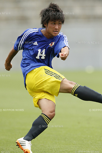 Takahiro Sekine,<br /> JULY 1, 2014 - Football / Soccer : <br /> Training match between U-19 Japan 1-2 Omiya Ardija<br /> at NACK5 Stadium Omiya, Saitama, Japan. <br /> (Photo by SHINGO ITO/AFLO SPORT)