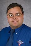 Blake Trchka, AV Services Coordinator, Student Center, DePaul University, is pictured in a studio portrait Tuesday, September 20, 2016. (DePaul University/Jeff Carrion)