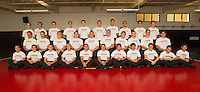 STANFORD, CA - SEPTEMBER 24, 2014-- Stanford University Men's Wrestling team.