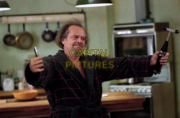 Doctor Buddy Rydell (Jack Nicholson) proves to be an unconventional therapist in Revolution StudiosÍ comedy Anger Management, a Columbia Pictures release. .Filmstill - Editorial Use Only.Ref: FB.sales@capitalpictures.com.www.capitalpictures.com.Supplied by Capital Pictures.