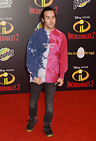 HOLLYWOOD, CA - JUNE 05: Pete Wentz attends the premiere of Disney and Pixar's 'Incredibles 2' at the El Capitan Theatre on June 5, 2018 in Los Angeles, California.<br /> CAP/ROT/TM<br /> &copy;TM/ROT/Capital Pictures