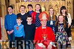 Kenmare Confirmation on Tuesday 27th in Holy Cross Church, Kenmare. <br /> Bishop - Ray Browne <br /> Teacher - Mrs.Hanley