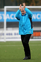 Dagenham Manager, Peter Taylor, applauds the away fans ahead of kick-off during Bromley vs Dagenham & Redbridge, Vanarama National League Football at the H2T Group Stadium on 24th November 2018