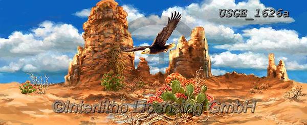 Dona Gelsinger, LANDSCAPES, LANDSCHAFTEN, PAISAJES, paintings+++++,USGE1626A,#l#, EVERYDAY ,desert
