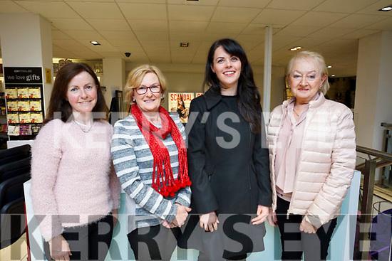 Enjoying the Weardrobe Tralee & Killarney fashion show in CH Chemists, Tralee on Friday evening last were: L to R: Pauline Shanahan (Ardfert), Noreen O'Brien of Abbeydorney, Emma landers and Freda Conroy of Tralee.