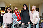 Enjoying the Weardrobe Tralee & Killarney fashion show in CH Chemists, Tralee on Friday evening last were: L to R: Pauline Shanahan (Ardfert), Noreen O'Brien of Abbeydorney, Emma landers and Freda Conroy of Tralee.