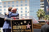 Bobby Flay, Michael Symon at the Bobby Flay Hollywood Walk of Fame Ceremony, Hollywood, CA 06-02-15<br /> David Edwards/DailyCeleb.com 818-249-4998