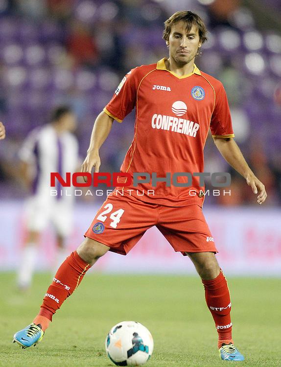 Getafe's  Pedro Mosquera during La Liga match.August 31,2013. Foto © nph / Acero)