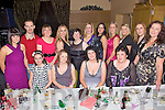 Having a wonderful time at the Kerry Residential Childcare Services Christmas Party held in The Ballyroe Heights Hotel on Friday night were seated l/r Juliet Moynihan, Denise O'Connell, Loretta O'Leary and Fionula Hogan, standing l/r Carmel Murphy, James Murphy, Sheila Wall, Lisa Sinnott, Bridget O'Connor, Carol O'Sullivan, Geraldine Dee, Rachel Sheehan, Cara O'Connor, Sheila Windle and Eileen Shanahan...................................................................................................................................................................................................................................................................................... ............