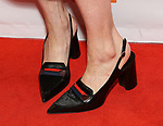 Sally Hawkins, shoe detail, attends 'The Shape of Water' premiere during the 2017 Toronto International Film Festival at The Elgin on September 11, 2017 in Toronto, Canada.