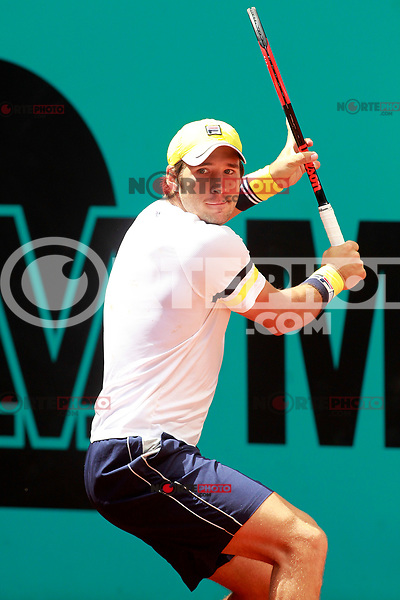 Dusan Lajovic, Serbia, during Madrid Open Tennis 2018 match. May 7, 2018.(ALTERPHOTOS/Acero) /NortePhoto.com