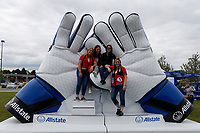 Saint Paul, MN - Tuesday September 03, 2019 : Allstate prior to the  USWNT 2019 Victory Tour match versus Portugal at Allianz Field, on September 03, 2019 in Saint Paul, Minnesota.