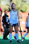 23 September 2016: North Carolina's Lauren Moyer. The University of North Carolina Tar Heels hosted the Syracuse University Orange at Francis E. Henry Stadium in Chapel Hill, North Carolina in a 2016 NCAA Division I Field Hockey match. UNC won the game 3-2 in two overtimes.