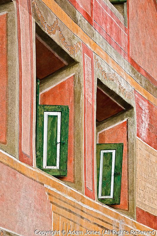 Rural Swiss architecture, Appenzeller, Switzerland