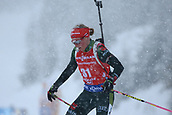 8th December 2017, Biathlon Centre, Hochfilzen, Austria; IBU Womens Biathlon World Cup; Franziska Hildebrand