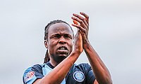 Marcus Bean of Wycombe Wanderers during the Sky Bet League 2 match between Dagenham and Redbridge and Wycombe Wanderers at the London Borough of Barking and Dagenham Stadium, London, England on 28 March 2015. Photo by Andy Rowland.