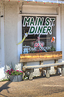 The Main Street Diner in Chelsea Oklahoma on Route 66.