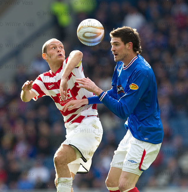 Alex Neil and Kyle lafferty