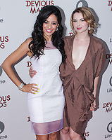 PACIFIC PALISADES, CA - JUNE 17: Edy Ganem and Kirsten Prout attend the Lifetime original series 'Devious Maids' premiere party held at Bel-Air Bay Club on June 17, 2013 in Pacific Palisades, California. (Photo by Celebrity Monitor)