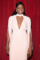 Kiza Deen<br /> arrives for the British Soap Awards 2016 at Hackney Empire, London.<br /> <br /> <br /> &copy;Ash Knotek  D3124  28/05/2016