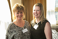 Clair Campbell (left) of NSPCC and CatherineRickett of Roythornes Solicitors