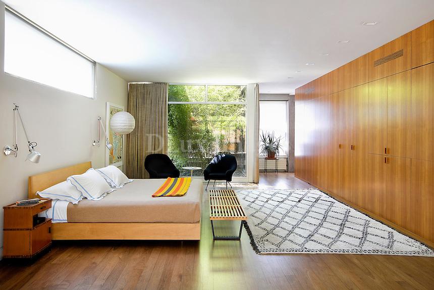 wooden bedroom closets