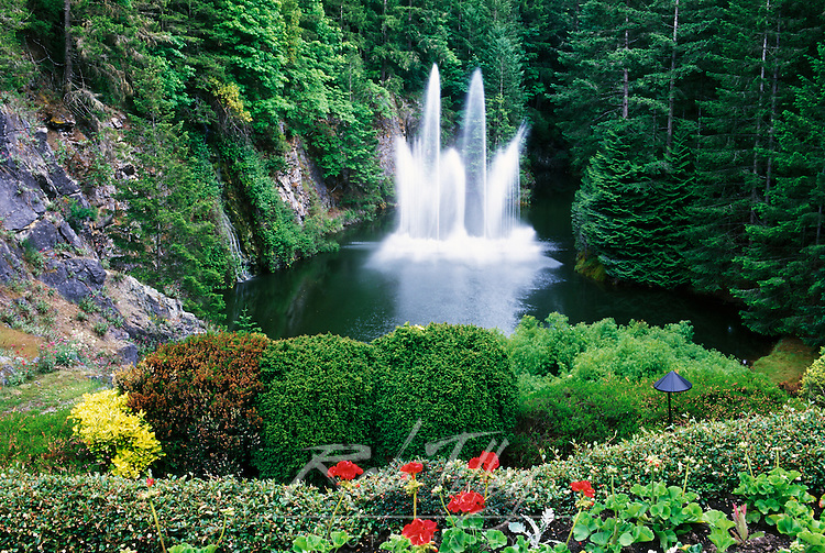 N.A., Canada, British Columbia, Vancouver Island, Saanich, Butchart Gardens