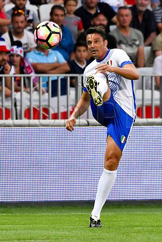 June 17th 2017; Allianz Riviera, Nice, France; Legends football international, France versus Italy;