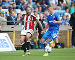 Sheffield United's Kieron Freeman in action during the League One match at the Priestfield Stadium, Gillingham. Picture date: September 4th, 2016. Pic David Klein/Sportimage