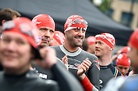 PICTURE BY VAUGHN RIDLEY/SWPIX.COM...Swimming - British Gas Great Salford Swim 2011- Salford Quays, Manchester, England - 15/05/11...British Gas Swimmers take part in the Red Wave.