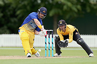 Otago's Neil Broom bats during the Ford Trophy One Day match (round five) between Wellington Firebirds and Otago Volts at Bert Sutcliffe Oval in Lincoln, New Zealand on Friday, 29 November 2019. Photo: Martin Hunter / lintottphoto.co.nz