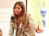 ALESSANDRA CLEMENTE , FIGLIA DI SILVIA RUOTOLO VITTIMA INNOCENTE  DELLA CAMORRA NAPOLETANA E'  NOMINATA ASSESSORE ALLE POLITICHE GIOVANILI DEL COMUNE DI NAPOLI . FOTO CIRO DE LUCA