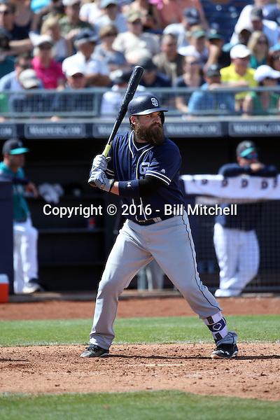 Derek Norris - San Diego Padres 2016 spring training (Bill Mitchell)