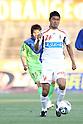 Kenji Fukuda (Ehime FC), MAY 8th, 2011 - Football : 2011 J.League Division 2 match between Shonan Bellmare 1-1 Ehime FC at Hiratsuka Stadium in Kanagawa, Japan. (Photo by Kenzaburo Matsuoka/AFLO).