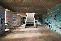 Underground walkway, Prague, Czech Republic