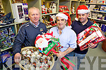 Management and staff from Sheehy's Hardware, Abbeyfeale on the Killarney road, l-r: Vincent Sheehy, Tony Quinn and Timmy Collins