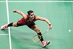 Carolina Marin of Spain competes against Tai Yzu Ying of Chinese Taipei during their Women's Singles Semi-Final of YONEX-SUNRISE Hong Kong Open Badminton Championships 2016 at the Hong Kong Coliseum on 26 November 2016 in Hong Kong, China. Photo by Marcio Rodrigo Machado / Power Sport Images