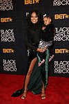 MONICA _ AND DAUGHTER AT THE 2016 BLACK GIRLS ROCK! Hosted by TRACEE ELLIS ROSS  Honors RIHANNA (ROCK STAR AWARD), SHONDA RHIMES (SHOT CALLER), GLADYS KNIGHT LIVING LEGEND AWARD), DANAI GURIRA (STAR POWER), AMANDLA STENBERG YOUNG, GIFTED & BLACK AWARD), AND BLACK LIVES MATTER FOUNDERS PATRISSE CULLORS, OPALL TOMETI AND ALICIA GARZA (CHANGE AGENT AWARD) HELD AT NJPAC