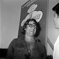 Edgar Fruitier, au theatre d'Eastman, vers 1976<br /> <br /> PHOTO : Agence Quebec Presse - Roland Lachance
