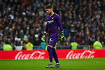 Tomas Vaclik of Sevilla FC during La Liga match between Real Madrid and Sevilla FC at Santiago Bernabeu Stadium in Madrid, Spain. January 18, 2020. (ALTERPHOTOS/A. Perez Meca)