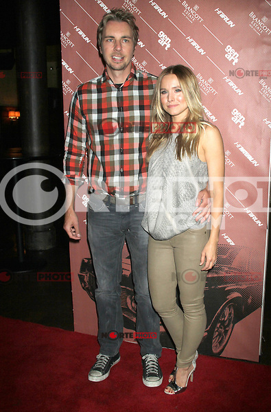 NEW YORK CITY,NY - July 25, 2012: Dax Shepard and Kristen Bell  at the GenArt Screening Series featuring the film, 'Hit & Run' at Tribeca Cinemas in New York City. © RW/MediaPunch Inc. /NortePhoto.com<br />