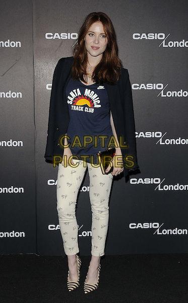 Angela Scanlon..at the Casio London store 1st birthday party, Covent Garden Piazza, London, England, 8th May 2013.CAP/CAN.©Can Nguyen/Capital Pictures