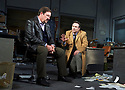 Glengarry Glen Ross by David Mamet, directed by Sam Yates. With Oliver Ryan as Baylen, Christian Slater as Ricky Roma. Opens at The Playhouse Theatre on 9/11/17.