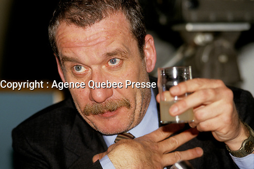 FILE PHOTO - Paolo Conte<br /> news conference in Montreal, Canada, august 19, 1984<br /> <br /> Photo :  Agence Quebec Presse - Denis Alix